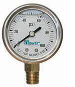 "2"" Liquid Filled Gauge"