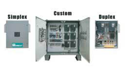 VFD Booster & Submersible Pump Panels